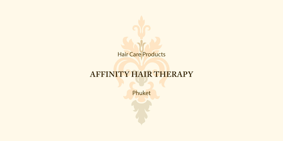 Affinity Hair Therapy Label and Packaging Design