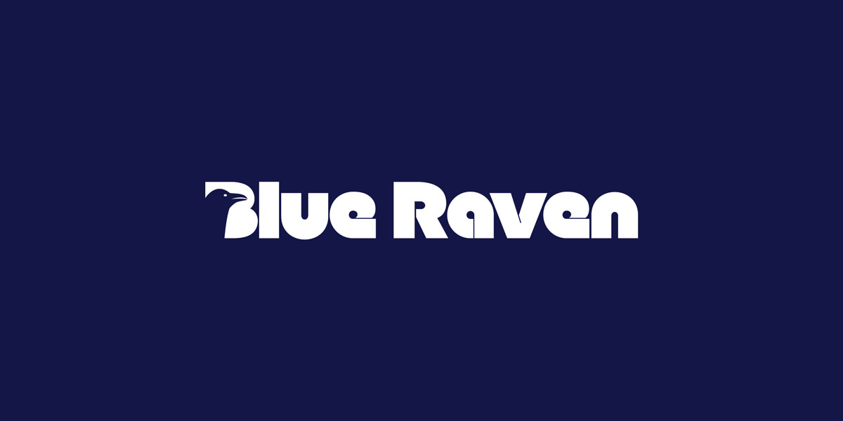 Blue Raven Logo Design
